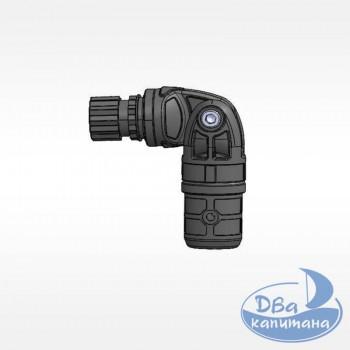 Узел карданный пластиковый для труб с наружным Ø22 мм или внутренним Ø29 мм