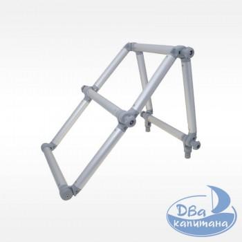 Лестница складная из алюминиевой трубы Ø32 мм FASTen