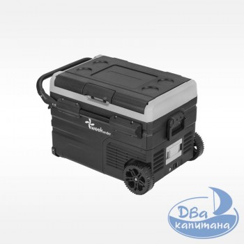 Холодильник-компрессор с аккумулятором Weekender TWW35, объем 35 литров, две секции