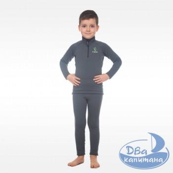 Комплект детского термобелья Catch «Joy Zip» Charcoal
