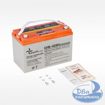 Аккумулятор гелевый Weekender DS 12V 100Ah, с дисплеем