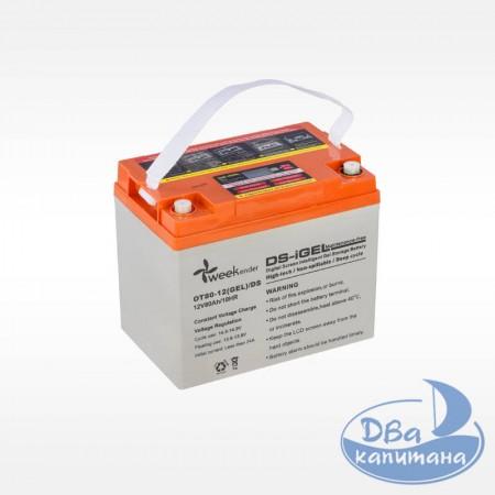 Аккумулятор гелевый Weekender DS 12V 80Ah, с дисплеем