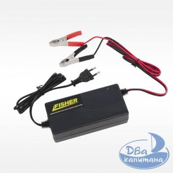 Зарядное устройство Fisher для гелевых аккумуляторов 30-100Ah 12V 5A