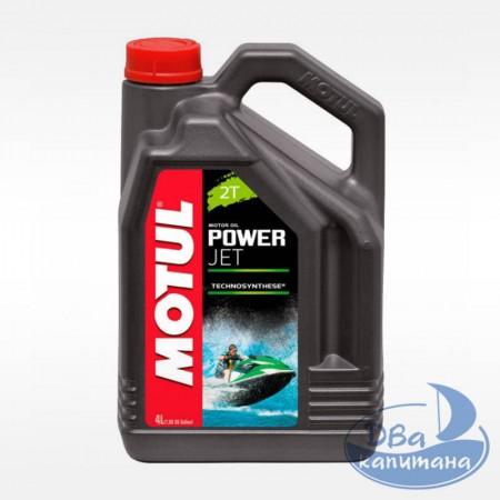 Масло моторное 2-х тактное Motul Powerjet 2T 4L