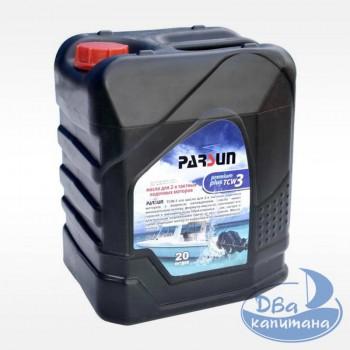 Масло моторное 2-х тактное Parsun TC-W3 Premium Plus 20L