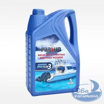 Масло моторное 2-х тактное Parsun TC-W3 Premium Plus 5L