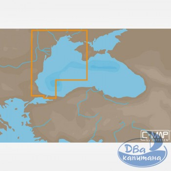 Карта С-МАР MAX-N EM-N120 «Западная часть Черного моря»