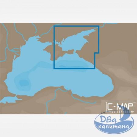 Карта С-МАР MAX-N EM-N121 «Азовское море, восточная часть Черного моря»