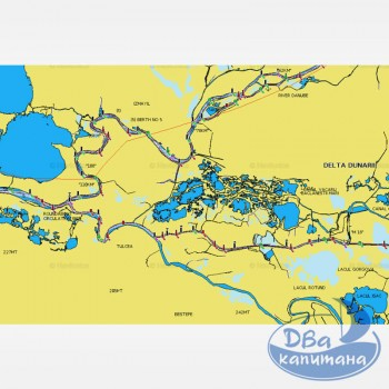 Карта NAVIONICS «Днепр + Средиземное и Черное море»