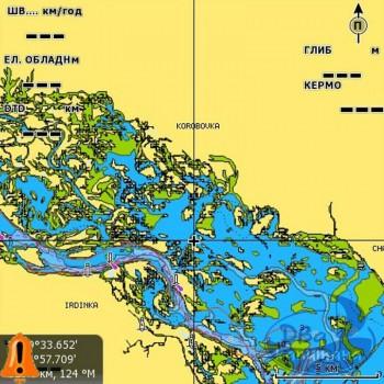 Карта NAVIONICS «Дунай» (только устье 100 км) + SonarChartsLive