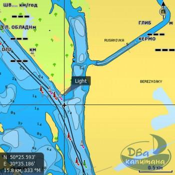 Карта NAVIONICS «Днепр» (полное покрытие) + SonarChartsLive