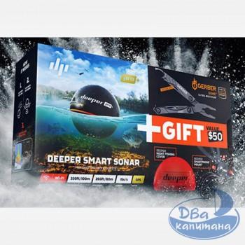 Эхолот Deeper Pro+ Christmas Bundle (подарочный набор)