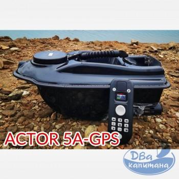 Кораблик прикормочный Boatman ACTOR 5A-GPS (с автопилотом)