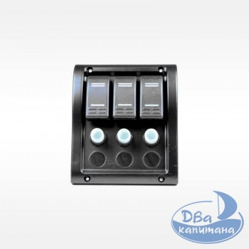 Панель переключателей на 3 кнопки AAA 10013-BK
