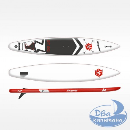 """Доска SUP Rapid GT20 14'0"""" White"""
