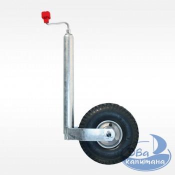 Колесо опорное AL-KO 200 кг (металлический диск, пневматическая шина)