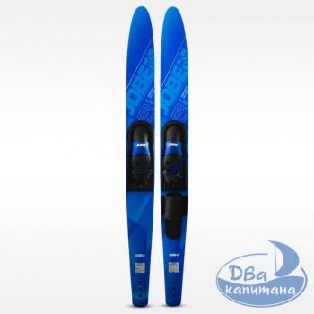 "Водные лыжи Jobe Allegre Combo Waterskis Blue 67"""