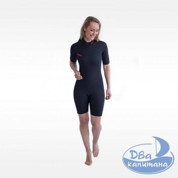 Гидрокостюм неопреновый Jobe Savannah Shorty 2mm Wetsuit Women Black